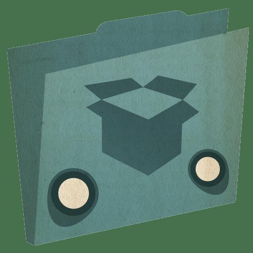 Folder-dropbox icon