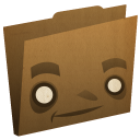 Folder-brown icon