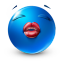 kiss me icon