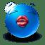 kiss me icon