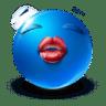 Kiss-me icon