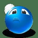 sarcastic sadness icon