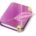 Notebook-girl icon