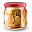 Money jar icon
