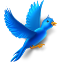 Flying-bird icon