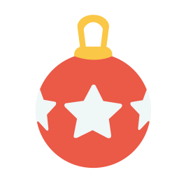 Christmass ball icon