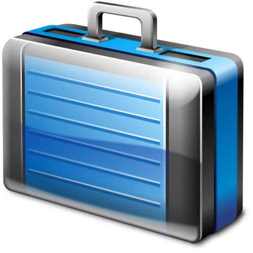 Briefcase Icon | Dragon Soft Iconset | Artua.com