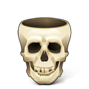 skull empty icon