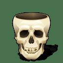 skull empty icon