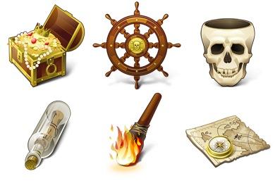 Treasure map Icon | Pirates Iconset | Artua.com