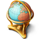 Globe icon