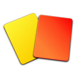 Referee cards icon