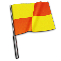 referee flag icon