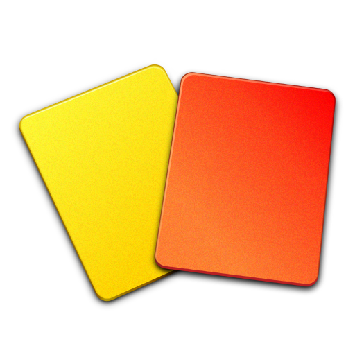 Referee-cards icon