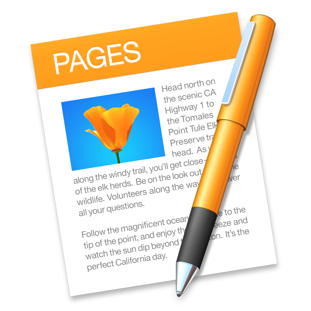 Photo Page: Yosemite IWork Iconset