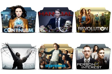TV Series Folder Pack 5 Icons