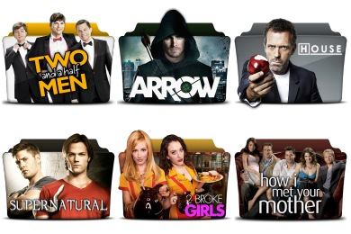 TV Series Folder Pack 1-4 Icons