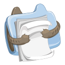 http://icons.iconarchive.com/icons/ava1219/littlear/128/folder-document-icon.png