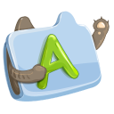http://icons.iconarchive.com/icons/ava1219/littlear/128/folder-font-icon.png