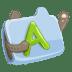 Folder-font icon