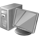 3 Gray Computer icon