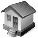 3 Gray Home icon