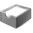 Gray Paper Box icon