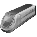4 Disabled Train icon