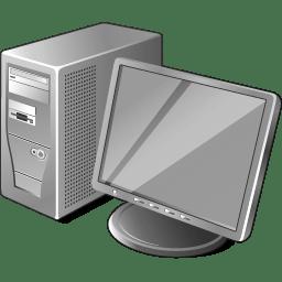 3 Gray Computer icon