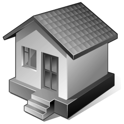 Gray Home icon