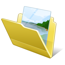Folder my pictures Icon | Vista Artistic Iconset | Lokas ...