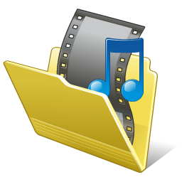 Folder my video Icon | Vista Artistic Iconset | Lokas Software