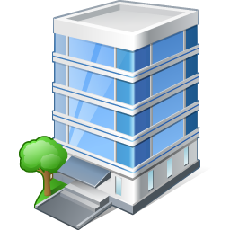 Office building Icon | Vista Artistic Iconset | Lokas Software
