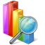 Chart search icon