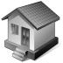 3-Gray-Home icon
