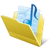 Folder-my-music icon