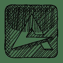 Aimp Icon Sketchy Iconset Azuresol