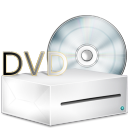 Lecteur box DVD icon