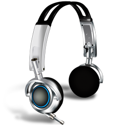 Casque micro icon