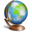 globe terrestre icon