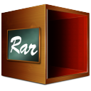 Fichiers compresse rar icon
