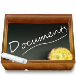 dossier ardoise documents icon