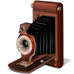 Old camera Icon | Old School Iconset | Babasse