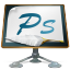 Photoshop old school icon