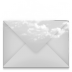 Mail-envelope-cloud icon