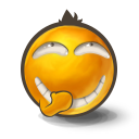 secret laugh icon