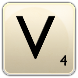 V icon