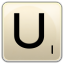 U icon