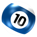 Ball 10 icon