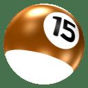Ball 15 icon